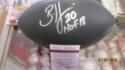 Brian Dawkins Philadelphia Eagles Signed Black Football HOF Inscription JSA