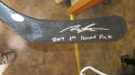 Morgan Frost Philadelphia Flyers Signed Full Size Hockey Stick! JSA Inscription