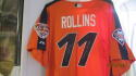 Jimmy Rollins Philadelphia Phillies Signed Game Used 2005 All Star BP Jersey COA