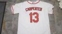 Matt Carpenter St Louis Cardinals Signed Home Jersey JSA