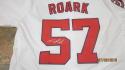 Tanner Roark Washington Nationals Signed Home Jersey COA