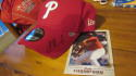 Jake Thompson Philadelphia Phillies Signed Hat MLB Authenticated