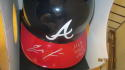 Ronald Acuna Atlanta Braves Signed F/S  Official Batting Helmet JSA Inscription