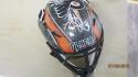 Carter Hart Philadelphia Flyers Signed Mini Goalie Mask COA