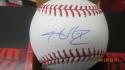 JA Happ Toronto Blue Jays/New York Yankees Signed MLB BaseBall COA