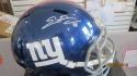 Evan Engram New York Giants Signed FS Replca Helmet COA