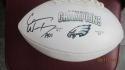Carson Wentz Philadelphia Eagles Signed  Superbowl  Logo Football Fanatics