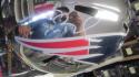 Tom Brady New England Patriots Signed FS Chrome Replica Helmet Steiner COA