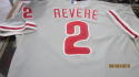 Ben Revere Philadelphia Phillies signed 2014 Game Used Road Jersey MLB Authenticated