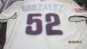 Miguel Alfredo Gonzalez Philadelphia Phillies 2016 Game Used Stars/Stripes Jersey MLB Authenticated
