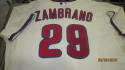 Carlos Zambrano Philadelphia Phillies Game Used/Issued 2013 Alternate Jersey