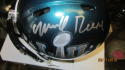 Merrill Reese Philadelphia Eagles Signed Mini Helmet COA SB Champs