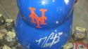 Michael Conforto New York Mets Signed Plastic Batting Helmet COA