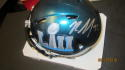 Rasul Douglas Philadelphia Eagles Signed Mini Helmet COA SB Champs mini