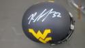 Rasul Douglas West Virginia Signed Mini Helmet COA  Philadelphia Eagles