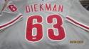 Jake Diekman Philadelphia Phillies 2013 Authentic RoadGame Used Jersey  MLB Auth