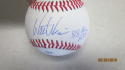 Walt Weiss Oakland A's/Braves/Rockies/Marlins Signed OLB Baseball  COA INS