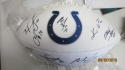 2018 Indianapolis Colts Team Signed Logo Football COA