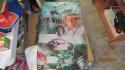 Vince Papale Philadelphia Eagles Signed Banner  COA Invincible