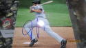 Jeff Francouer Atlanta Braves  signed  8x10 Photo COA