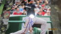 Jeff Francouer Atlanta Braves  signed  8x10 Photo COA 3
