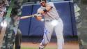 Jeff Francouer Atlanta Braves  signed  8x10 Photo COA 4