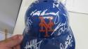 2018 New York Mets Team Signed FS Helmet COA