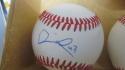 Darrick Hall Philadelphia Phillies Signed OLB Baseball COA