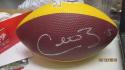 Colt Brennan Washington Redskins Signed Mini Logo Football COA