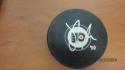 Sam Morin Philadelphia Flyers Signed Logo Puck COA