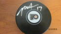 Rod Brindamour Philadelphia Flyers Signed Logo Puck COA