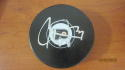 Carter Hart Philadelphia Flyers Signed Logo Puck COA