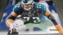 Halapoulivaati Vaitai Philadelphia Eagles Signed 8x10 Photo COA 2 inscriptions