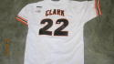 Will Clark San Francisco Giants Signed Home Replica Jersey PSA