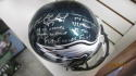 Brent Celek Philadelphia Eagles Signed Full Size Replica Helmet COA 5 inscriptions