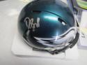 Derek Barnett Philadelphia Eagles Signed  Mini Helmet COA