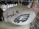 Irving Fryar Philadelphia Eagles Signed  Logo Football COA