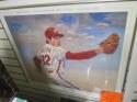 Steve Carlton Philadelphia Phillies Signed Pride of the Phillies Poster Framed COA