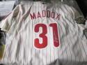 Garry Maddox Philadelphia Phillies Signed Replica Jersey COA