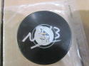 Nick Bonino Nashville Predators Signed  Logo Puck COA