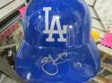 Aj Ellis Los Angeles Dodgers Signed Batting Helmet COA