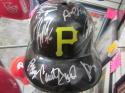 2018 Pittsburgh Pirates Team Signed Batting Helmet COA