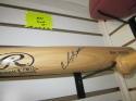 Carlos Santana Cleveland Indians/Phillies Signed FS Rawlings Bat  COA
