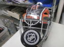 Bernie Parent Philadelphia Flyers Signed Full Size Goalie Mask COA Inscription