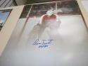 Bernie Parent Philadelphia Flyers signed 16x20 SMOKE Photo COA HOF
