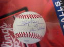 Ivan Dejesus Phillies/Cardinals/Cubs Signed OLB Baseball COA 85 NL Champs Ins