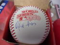 Orlando Isales Philadelphia Phillies Signed Official 1980 World Series WS Baseball COA
