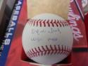 Orlando Isales Philadelphia Phillies Signed Official League Baseball COA Inscription