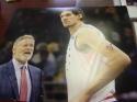 Boban Marjanovic Philadelphia 76ers signed 8x10 Photo COA