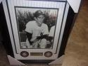 Joe Dimaggio New York Yankees Signed 8x10 Framed Photo JSA